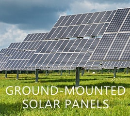 ground mounted solar system in Massachusetts